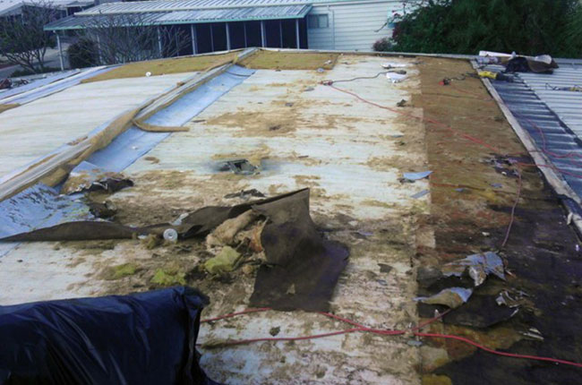 Mobile Home Roof Leaks